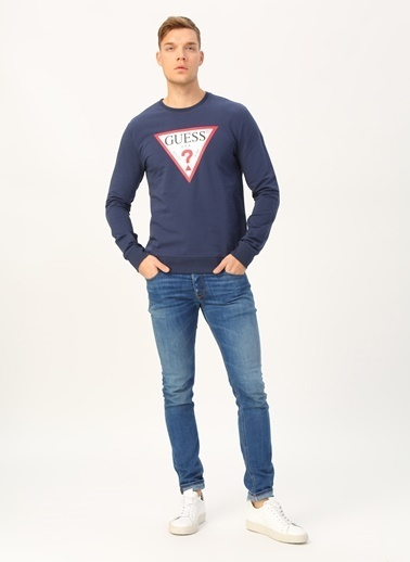 Guess Sweatshirt Lacivert